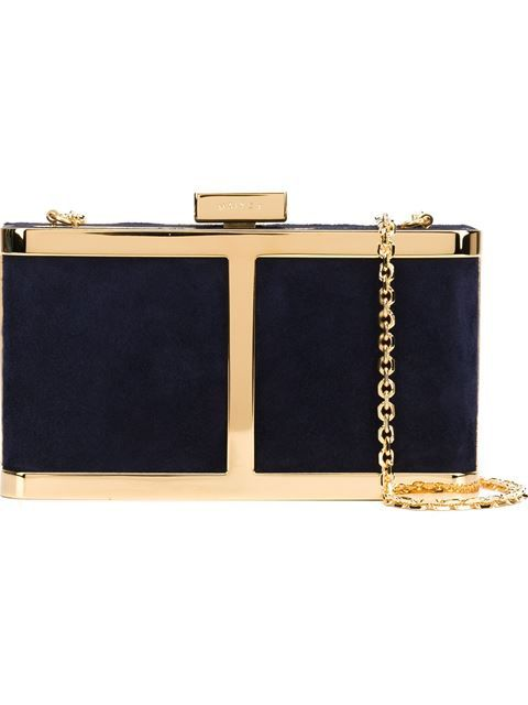 MAIYET 'The Butterfly' Box Clutch. #maiyet #bags #shoulder bags #clutch #leather #hand bags #