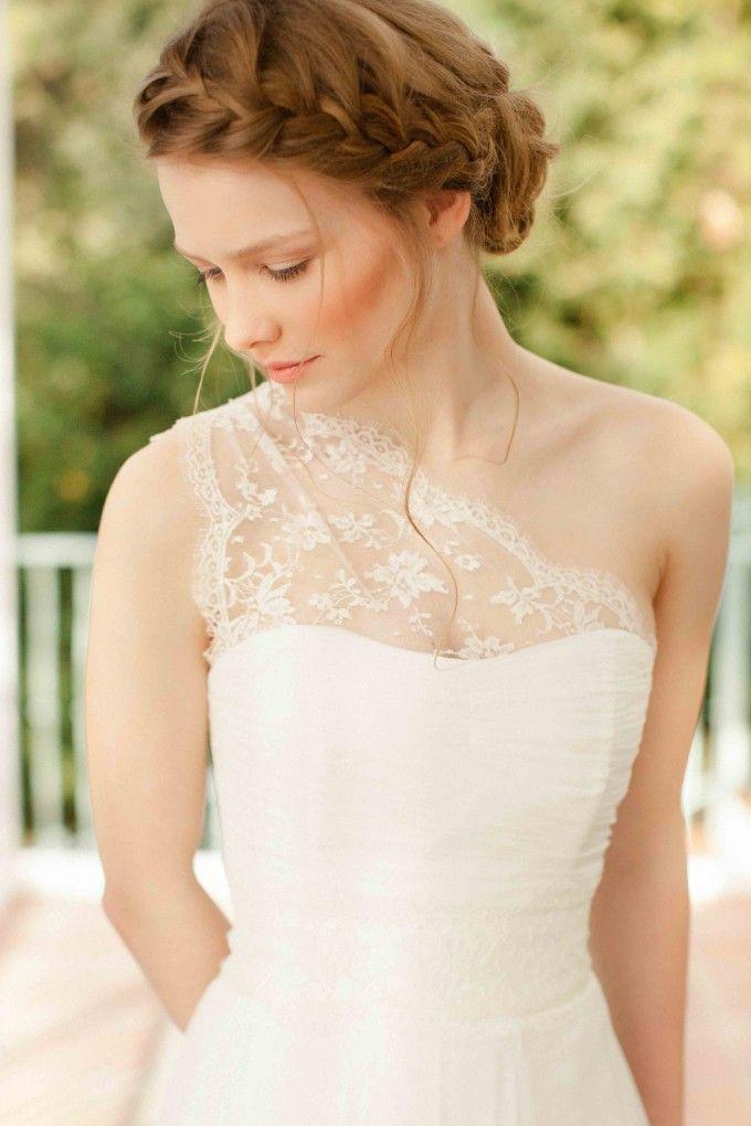 SADONI top - NIKA incert lace top (www.sadoni.no) | Brautkleid ...