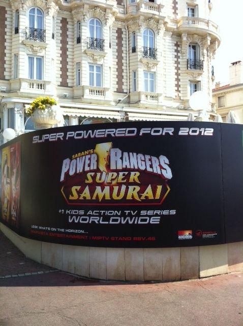 MIPTV 2012 Power Rangers