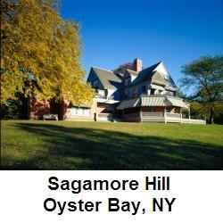 Sagamore Hill was Theodore Roosevelt's home in Oyster Bay, New York. A wonderful memory from my youth was visiting the house. Click the Link below this blurb and Learn a Little about Sagamore Hill.