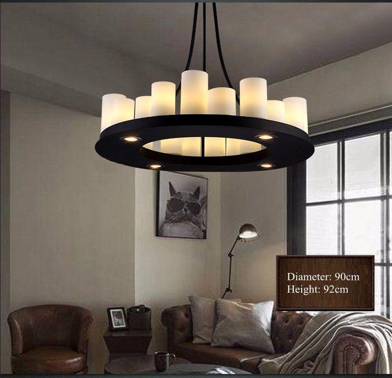 candle decorative modern pendant lamp. aliexpresscom buy modern pendant lamps round candle stand holders drop light lighting fixture decorative lamp g