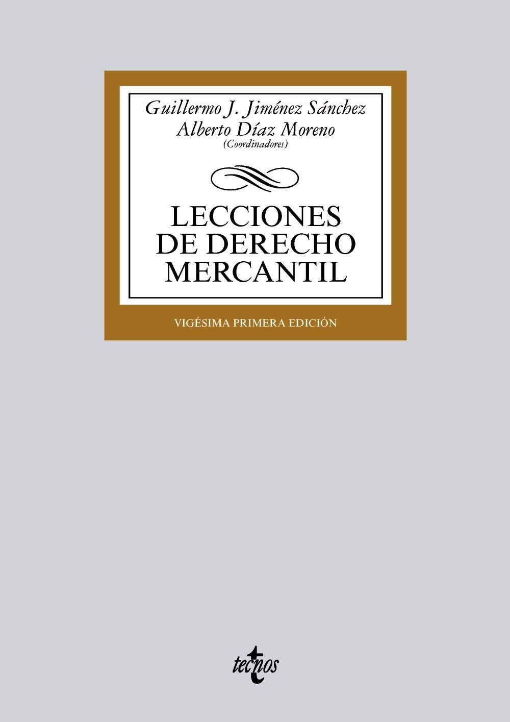 Lecciones de Derecho Mercantil Derecho - Biblioteca