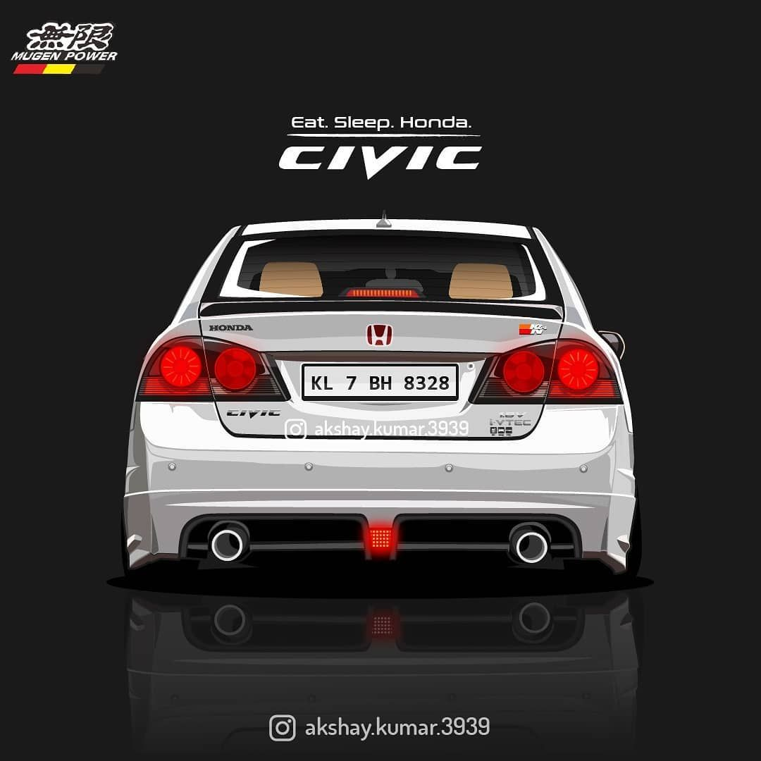 They Say Old Is Gold Honda Civic Fd Vector Art Jdm Cars Stancenation Honda Nation Mugen Indian Cars Vector Honda Civic Jdm Cars Honda