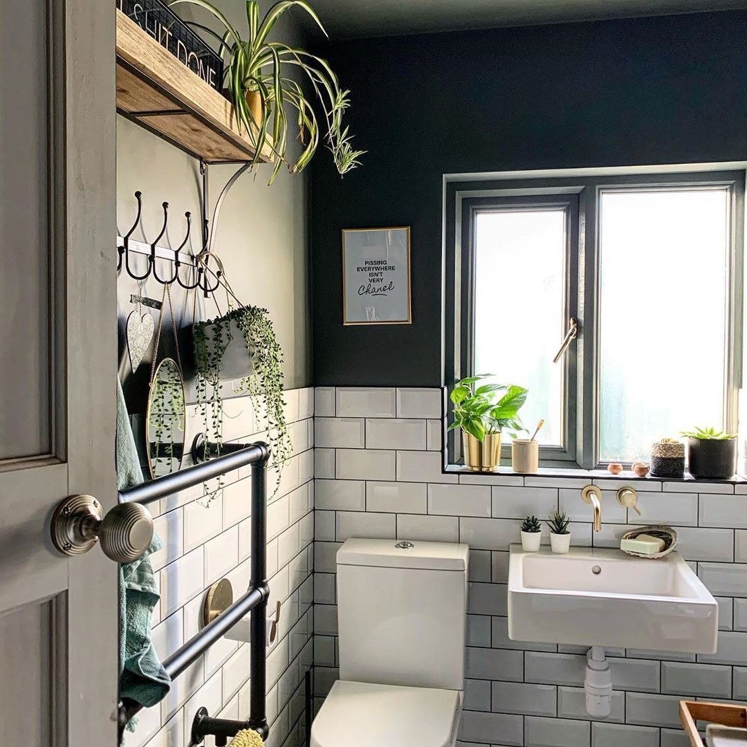 1 284 Likes 13 Comments House Beautiful Uk Housebeautifuluk On Instagram It Might Be Small But In 2020 Eclectic Interior Design Cozy Decor Tiny House Interior
