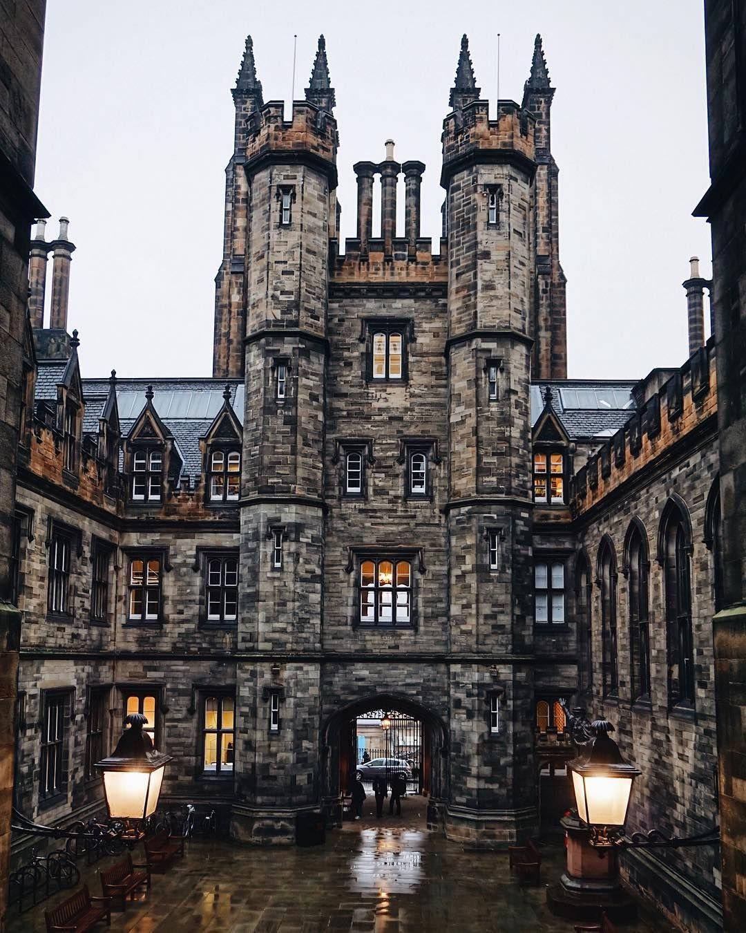 I've actually visited the University of Edinburgh back in 2014 and all I  can remember is how beautiful i… | Uk and ie destinations, Places to go,  Edinburgh scotland