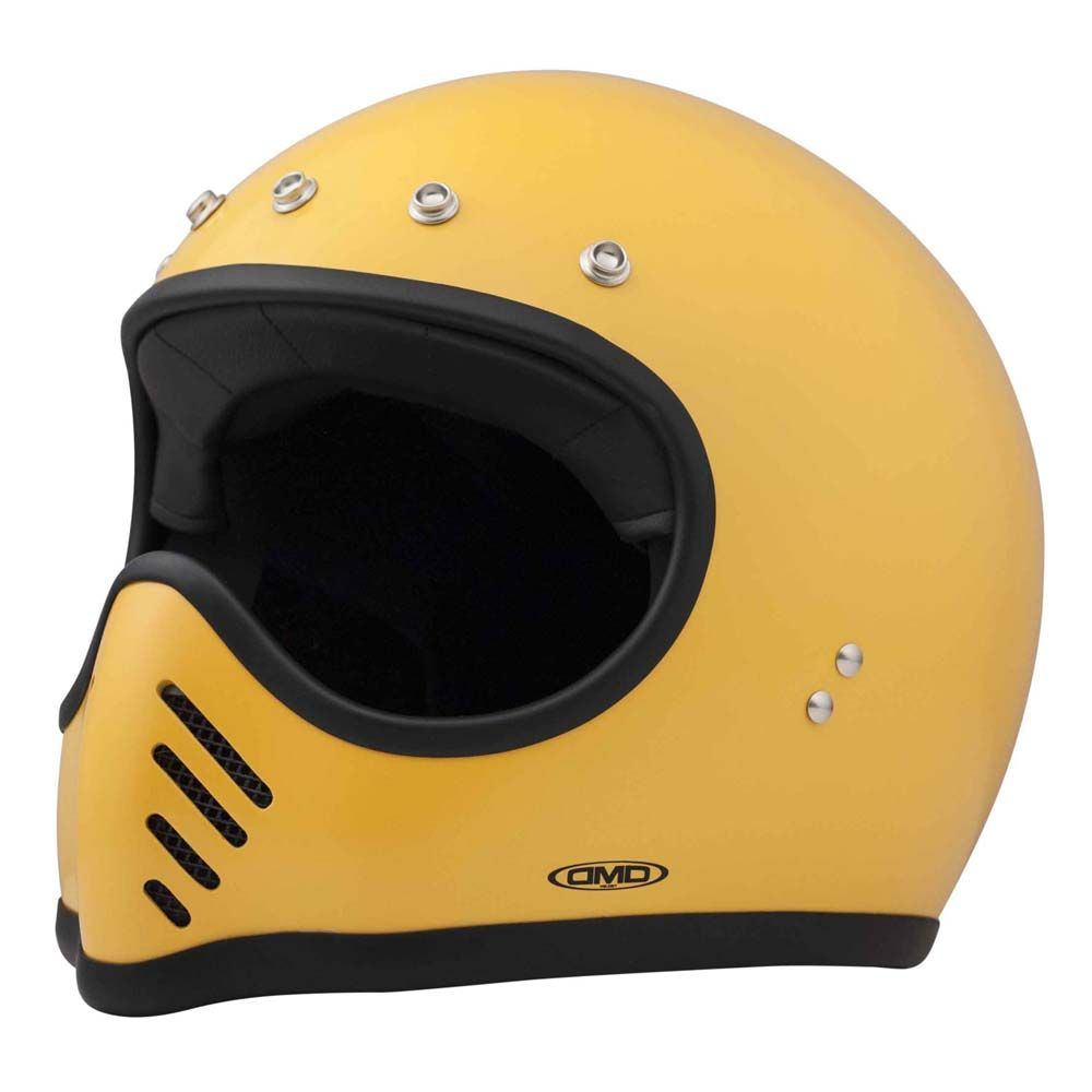 Dmd Seventy Five Helmet Yellow Moto Helmet мотошлем Full Face