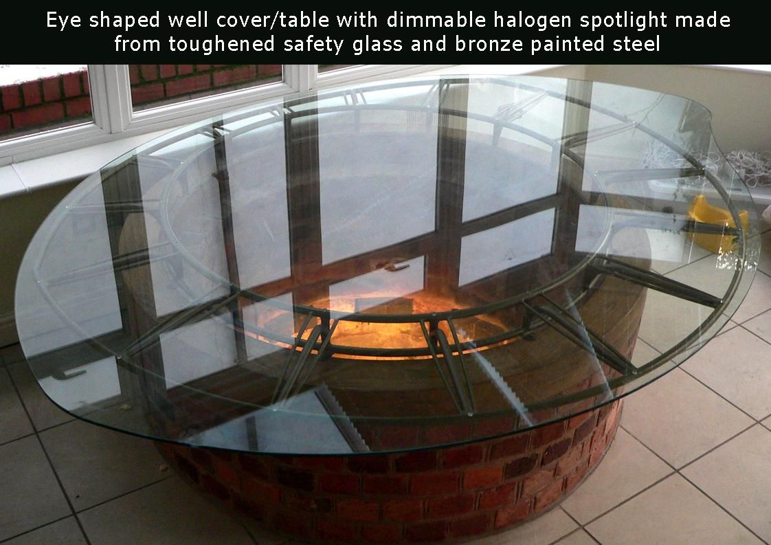 glass well cover - Google Search