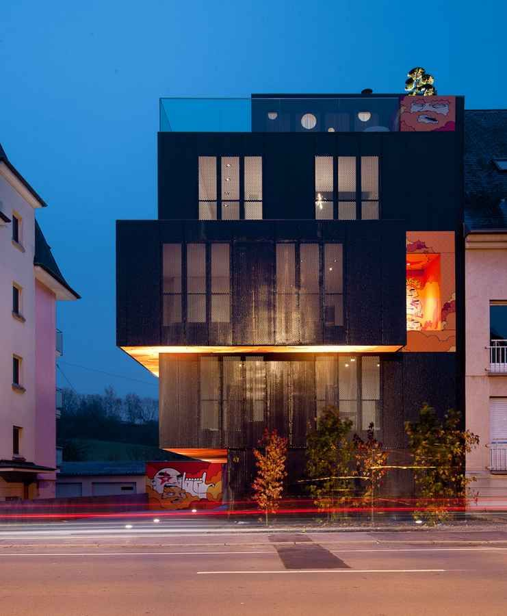 L Cessange Apartment Building In Luxembourg // Metaform Idea