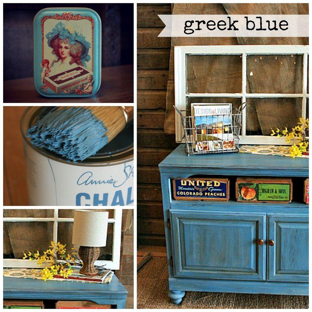 Görög Blue - Chalk festék ® Annie Sloan | Színek, Görög