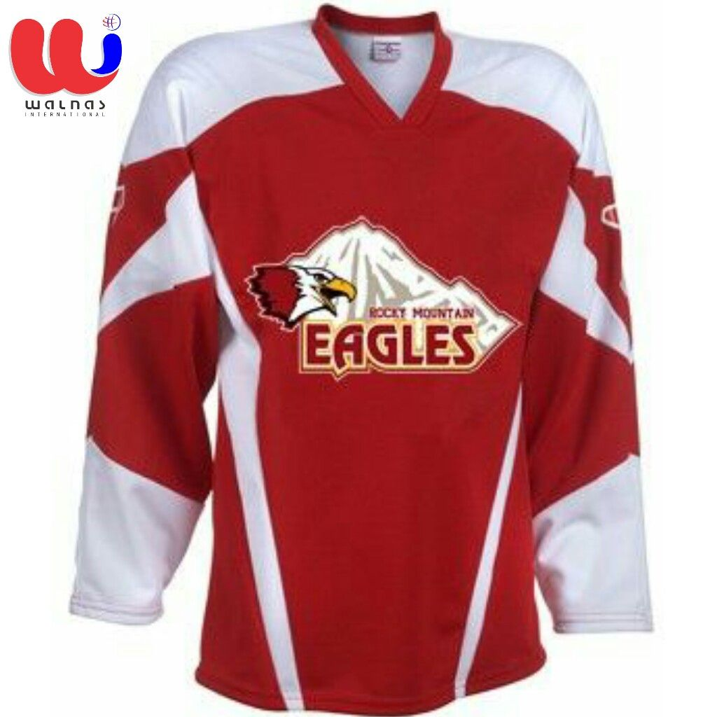 personalised ice hockey jersey
