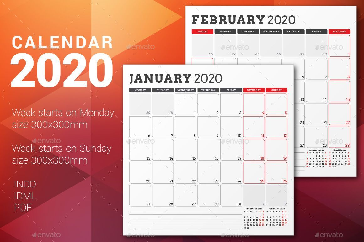 Great Images february calendar 2020 printable Thoughts All over the world there are actually 38 tri