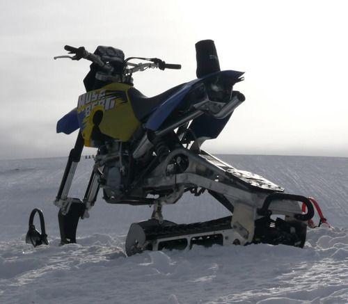 xprmntlgarage:  Husaberg Turbo Snow Bike