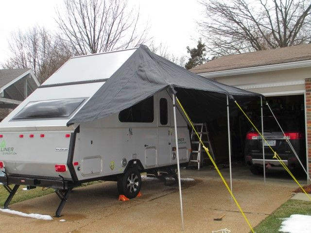 Mariah Awning for Aliner trailer | A frame camper, Camping ...