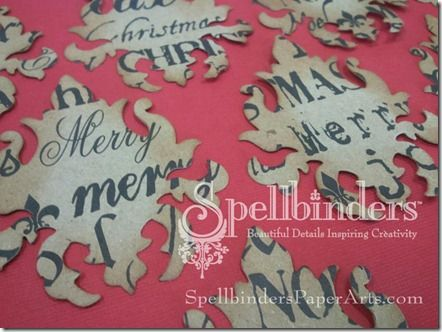 Make Your Own Damask Patterned Paper with Die Cuts Handmade Cards