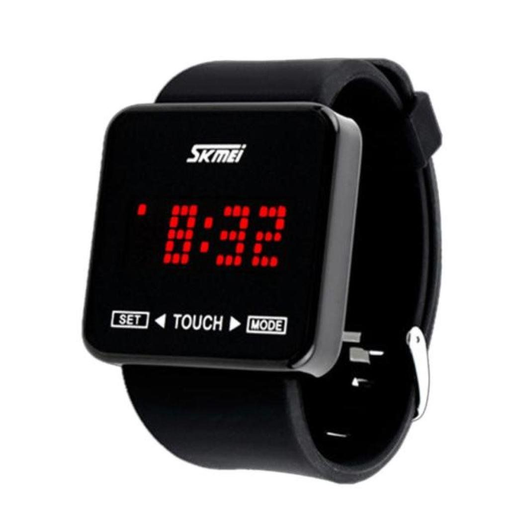 Sport Watch Ikevan Skmei Touch Screen Digital Led Boys Girls Sport Wrist Watches Black Read More At The Im Digital Mens Watches Affordable Watches For Men