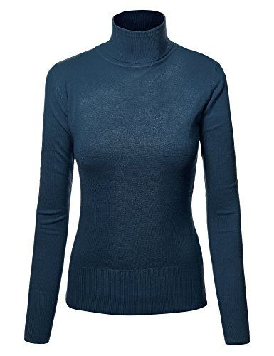 9d520e8edd MBJ Womens Textured Knit Turtleneck Long Sleeve Pullover Sweater     You  can get more details by clicking on the image.