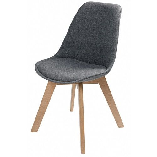 Grey Marl Scandinavian Chair Maisons Du Monde Scandinavian Chairs Grey Fabric Chair Scandinavian Style Chairs