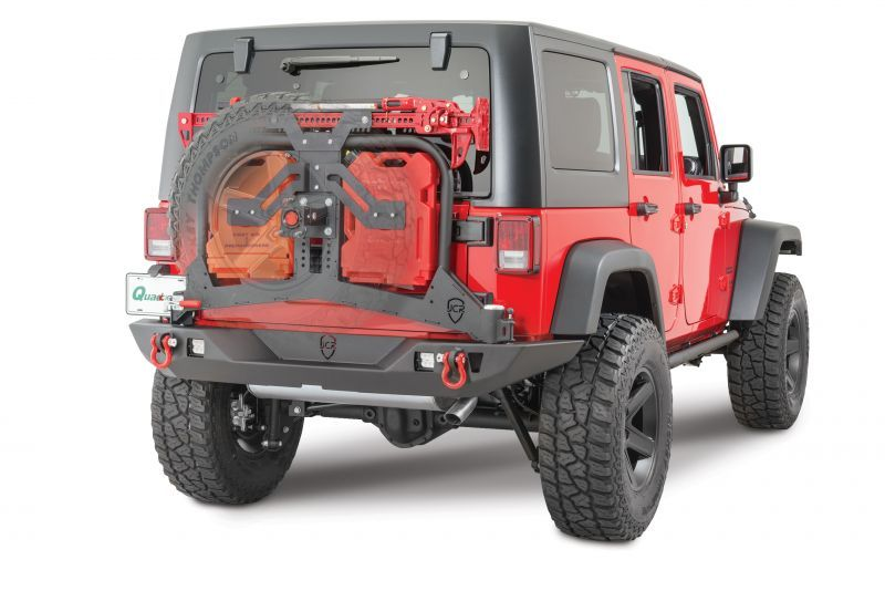 JcrOffroad Adventure Tire Carrier | Jeep Parts and Accessories ...