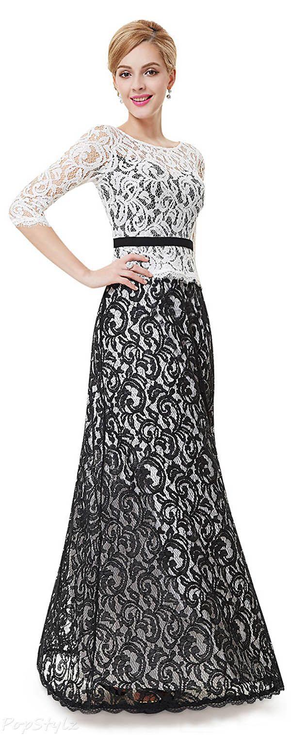 Ever pretty long formal lace dress fancy attire pinterest lace