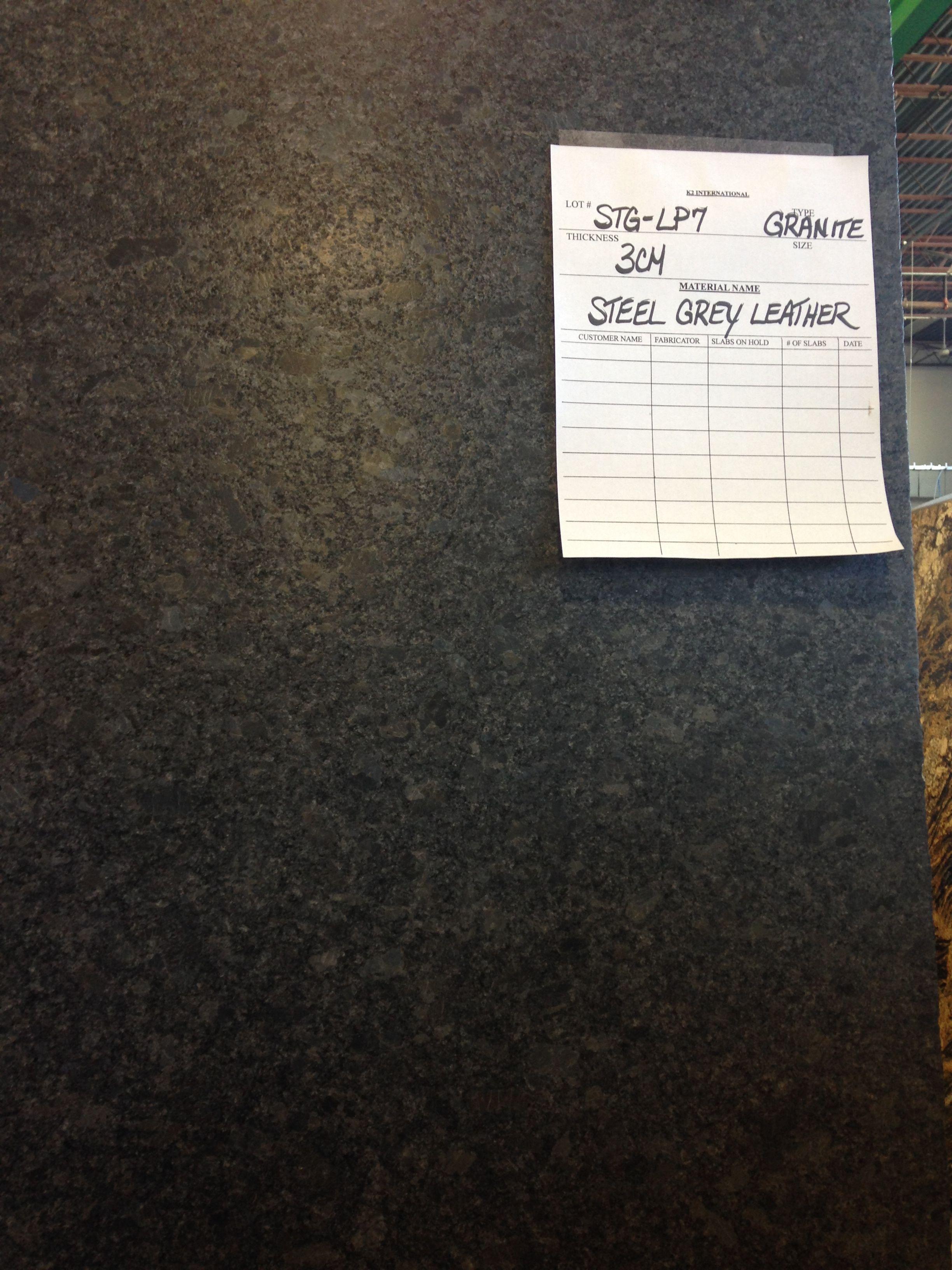 Steel Gray granite countertop. | Kitchens | Pinterest | Granite ...