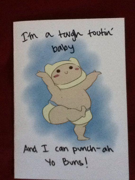 Adventure Time Birthday Card The Bestie Board Pinterest