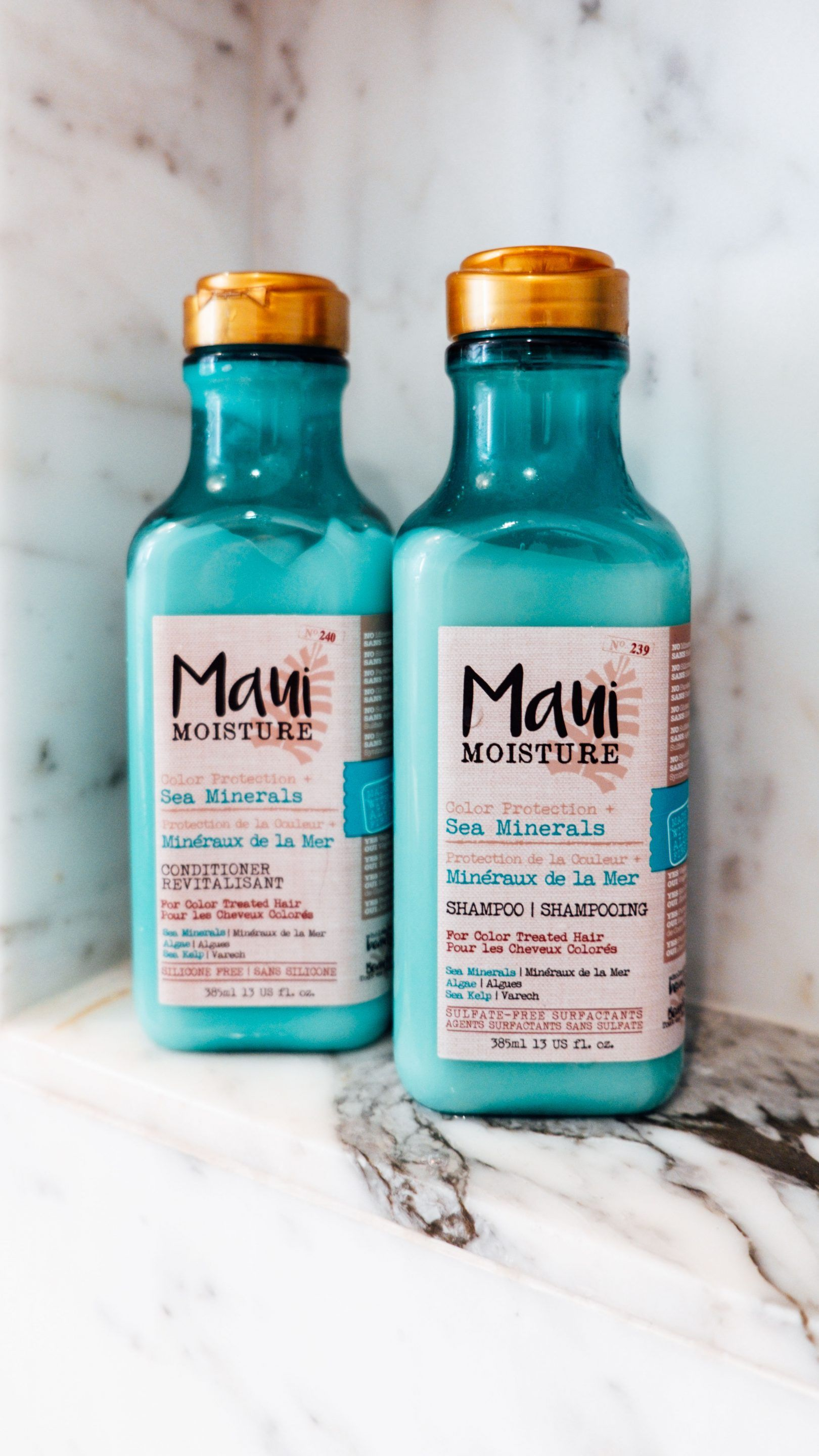 Maui Moisture Sea Minerals The Maui Moisture Sea Minerals Shampoo and Conditioner