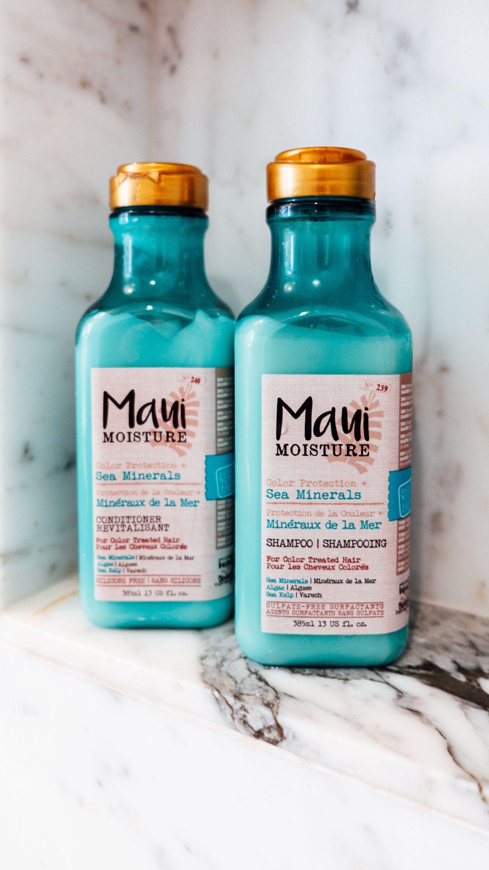 Maui Moisture Sea Minerals The Maui Moisture Sea Minerals Shampoo and Conditioner