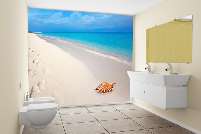 Bathroom Art Graphics Home Wall Effects Murals Lable Wallpaper