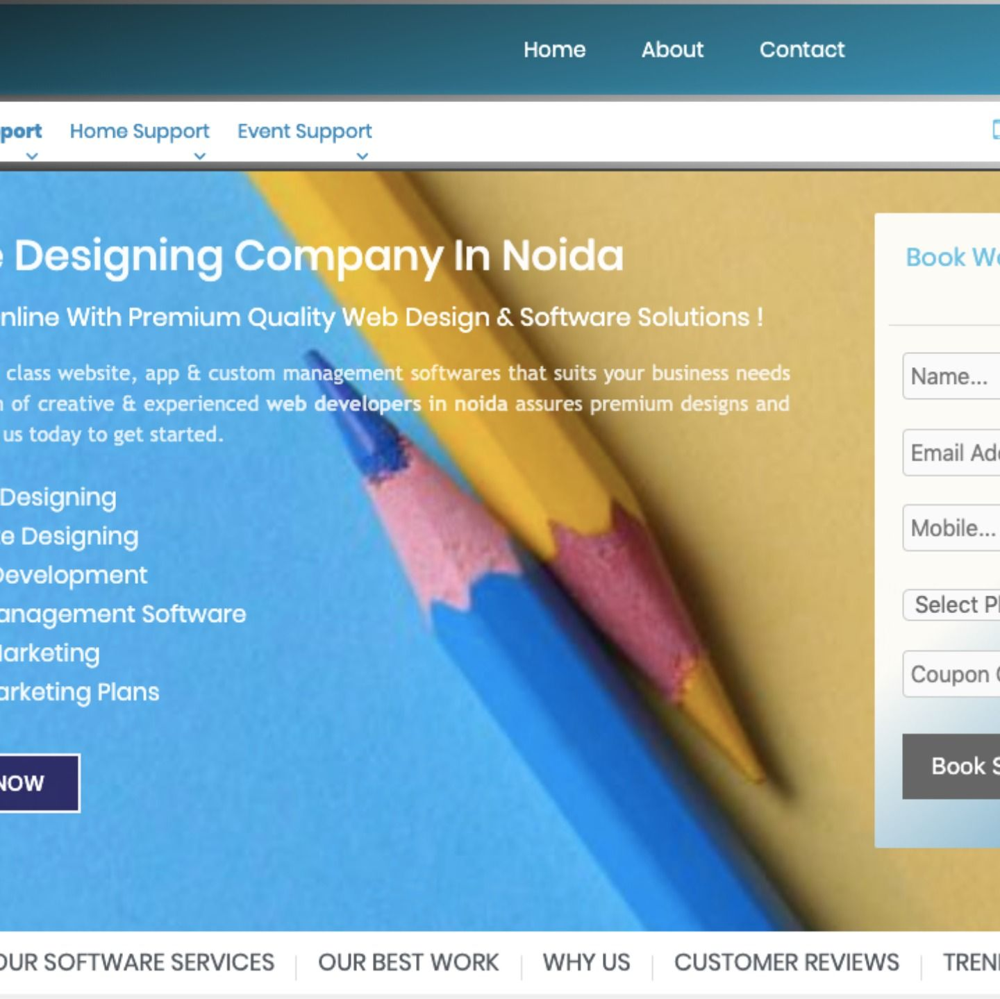 Best Website Designing Company In Noida Quality Web Design