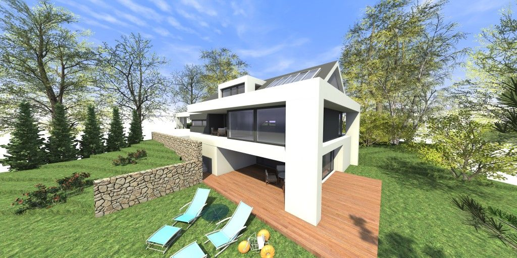 Satteldach Modern