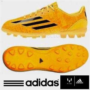 c608cb8c02db adidas Boys F10 TRX Messi AG Football Boots Astro Turf Kids Junior ...