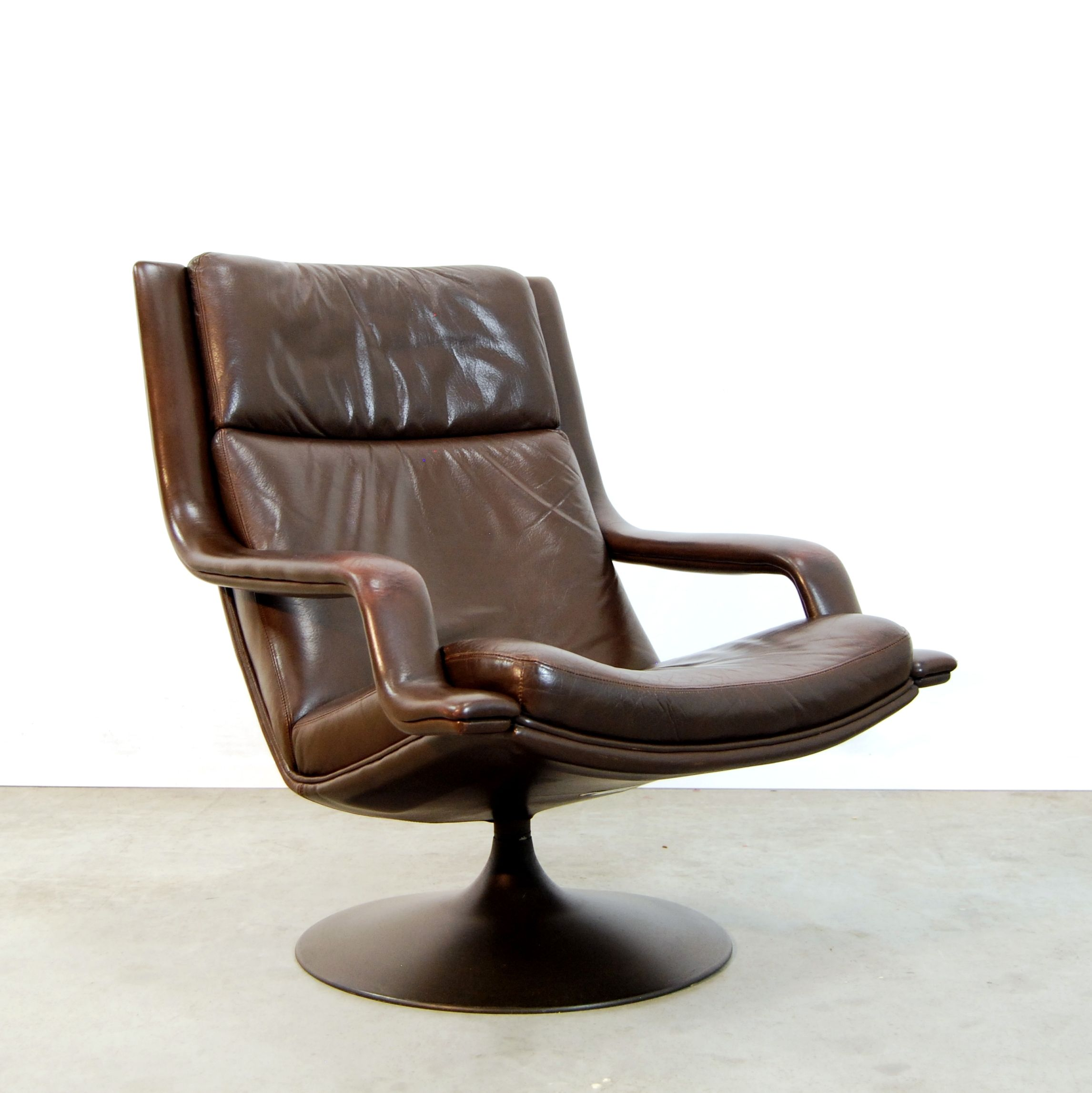 F140 lounge chair by Geoffrey Harcourt for Artifort 1970s