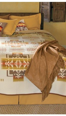 Pendleton Chief Joseph Blanket House And Home Home Bedroom Southwest Bedroom Bedroom Bed