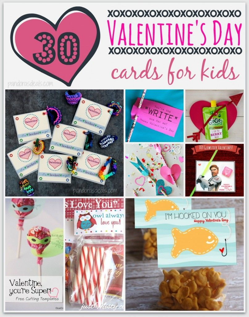 30 DIY Valentines Day Cards for Kids – Homemade Valentine Cards for School