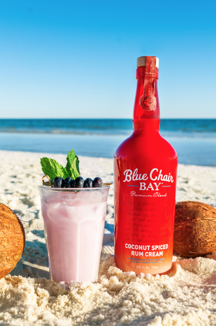 1.5 oz. Blue Chair Bay® Coconut Spiced Rum Cream .5 oz