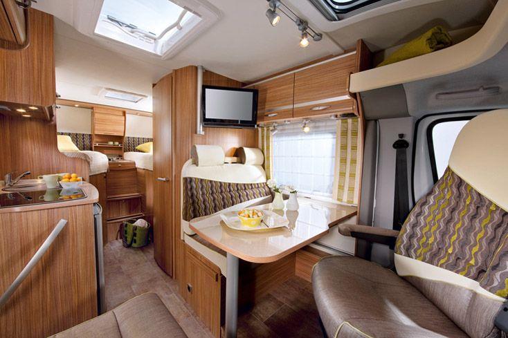 Compact Travel Van Interior