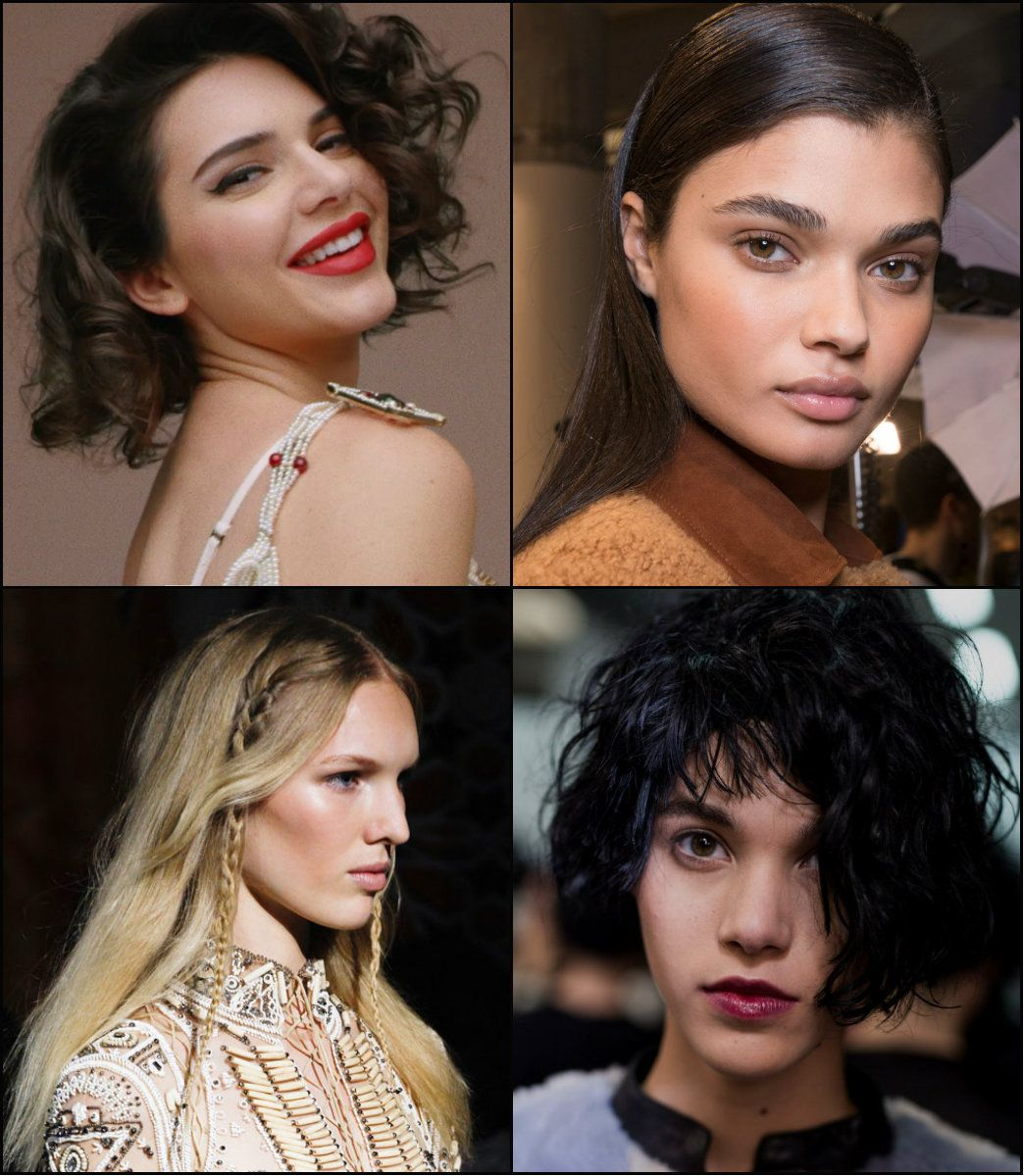 All the mainstream hairstyles fallwinter hairstyles