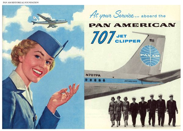 Pan Am Boeing 707 Clipper Ad Http Www Passionmkt Ca Images