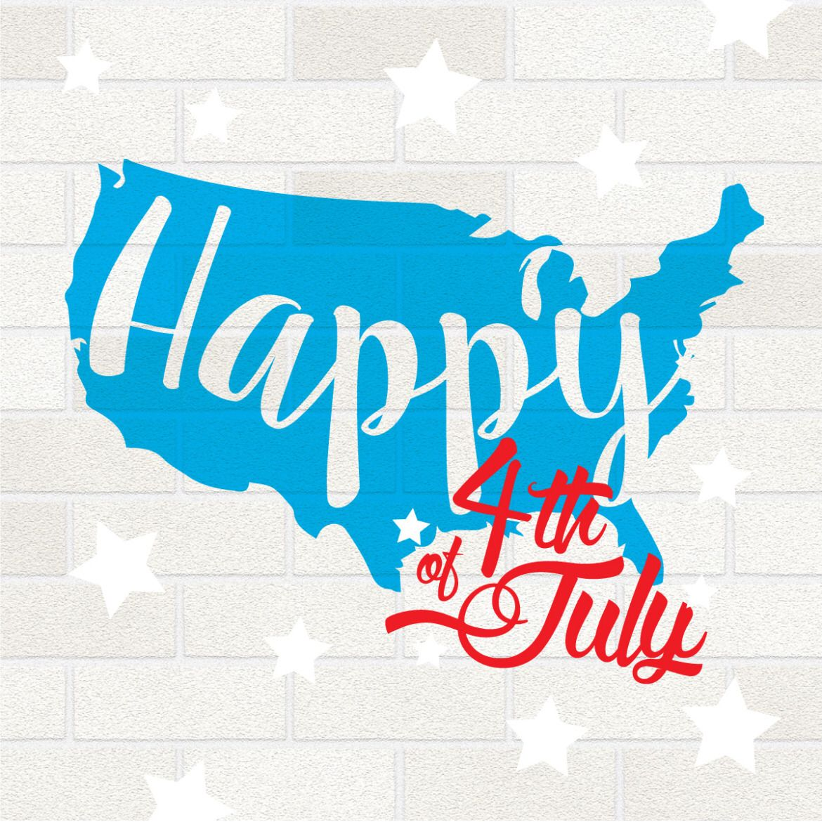 Happy 4th of July Holiday artwork, Dental, colors