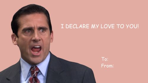 The Office Steve Carell The Office Valentines Meme Valentines Cards Valentines Day Card Memes