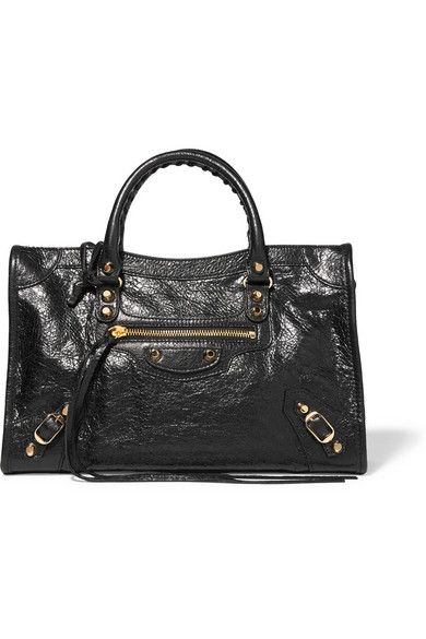 e4840f0724 BALENCIAGA Classic City Textured-Leather Tote.  balenciaga  bags  shoulder  bags  hand bags  leather  tote