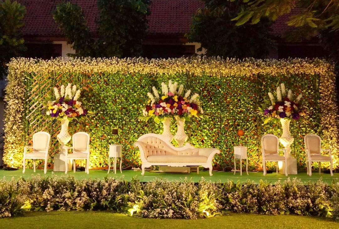 Dekorasi Pernikahan Outdoor Terbaru Lagi Ngetrend Pelaminan In
