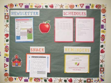 preschool parent information bulletin boards preschool parent communication board parent 464