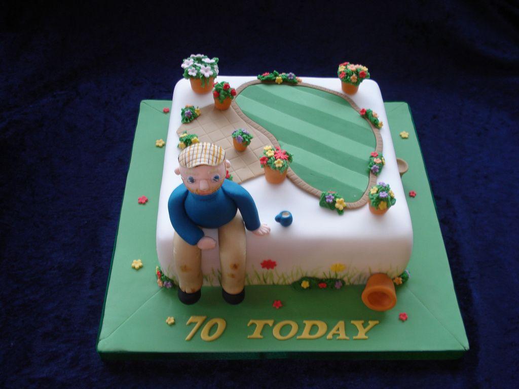 70th Birthday Cake For Dad An Avid Golfer
