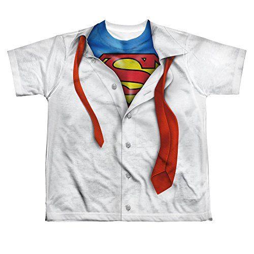 Superman Camiseta Manga Corta Ninas Blanco Blanco Medium Regalo Arte Geek Camiseta Camisetas De Superman Camisas Mujer Camisas