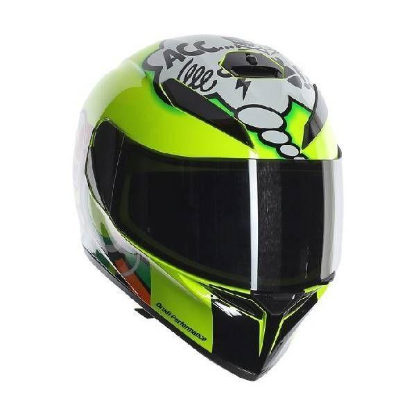 AGV K3 SV Misano 2011 WTF helmet Valentino Rossi
