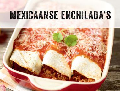 Mexicaanse enchilada's