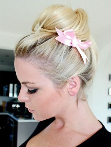 Ballerina Bun Hairstyle Fashion Beauty Mix Cool Hairstyles Hair Styles Hair Hacks