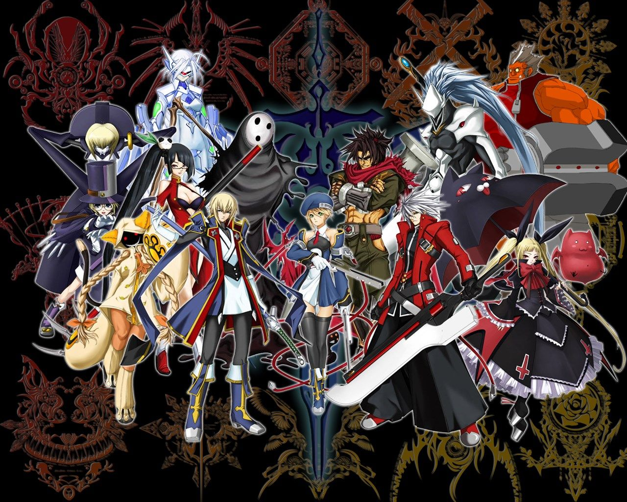 1280x1024 Free blazblue Romantic anime, Best action