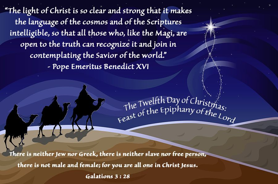Feast Of The Epiphany Of The Lord Catholic Feasts Three Wise Men